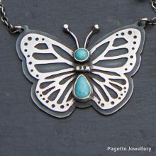 Turquoise Butterfly N164