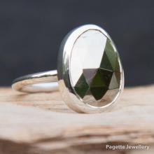 Faceted Pyrite Ring R152