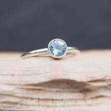 Blue Topaz Ring R153