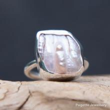Pink Baroque Pearl Ring R160