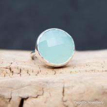 Mermaids Pool Chalcedony Ring R169