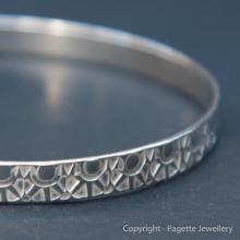 Patterned Bangle B110