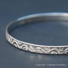Patterned Bangle B111
