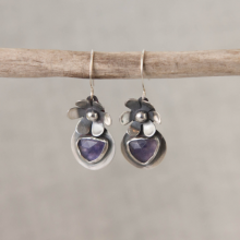 Iolite Earrings E103