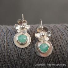 Amazonite Earrings E117