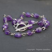 Amethyst Necklace N115