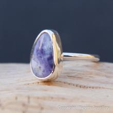 Purple Opalite Ring R109