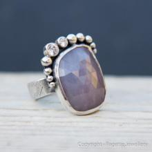 Pink Sapphire Ring R116