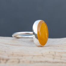 Golden Yellow Onyx Ring R120
