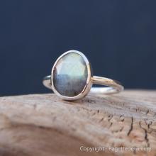 Labradorite Ring R123